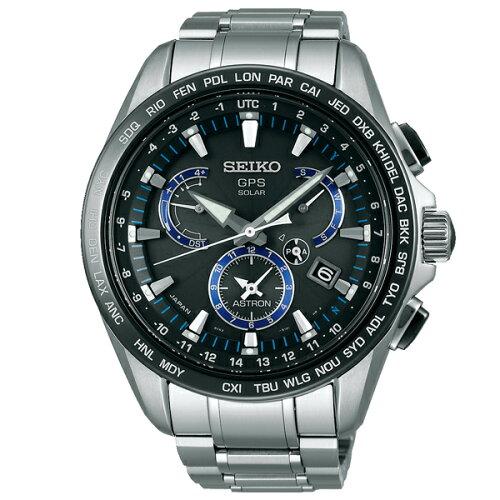 セイコーアストロンSEIKOASTRONGPS電波ソーラー電波時計腕時計メンズ100m防水SBXB101