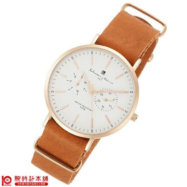 腕時計, 男女兼用腕時計 2000495 SalvatoreMarra SM15117-PGWHPG