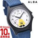 セイコー 腕時計 子供 男の子 女の子 うんこ漢字ドリル うんこ先生 キッズ 時計 SEIKO AQGS013 キャラクターウォッチ ホワイト×ブルー