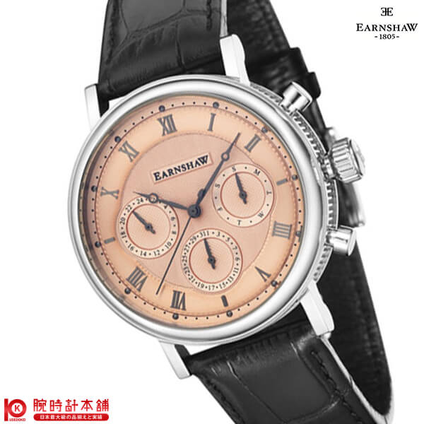 腕時計, メンズ腕時計 2000495 EARNSHAW ES-8103-03
