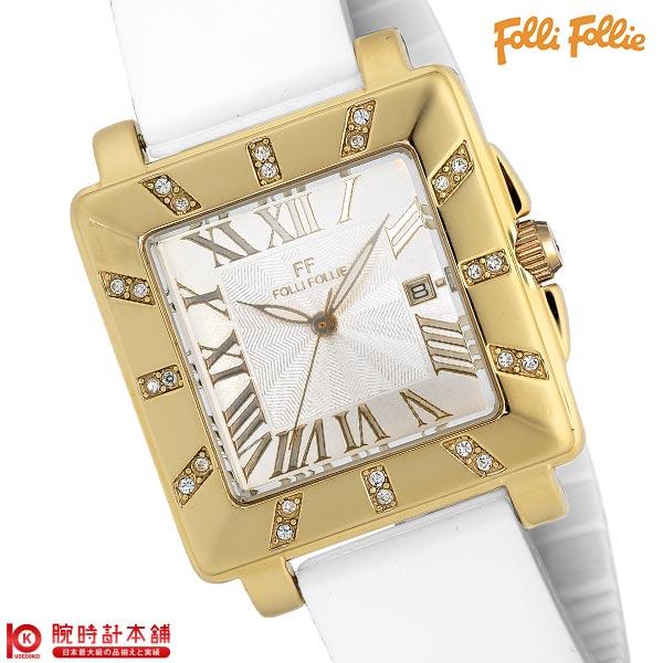 腕時計, レディース腕時計  FolliFollie RHAPSODY WF8C027ZDS-WH