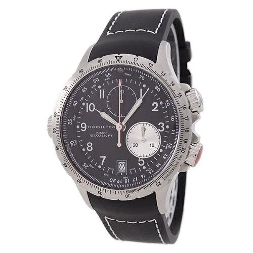 ハミルトンHAMILTONカーキ・フライバックKhakiETOFlybackH77612333腕時計ミリタリー#32989