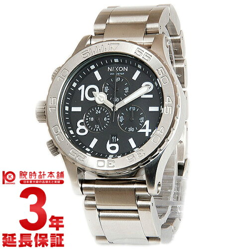 NIXON [海外輸入品] ニクソン THE42-20 クロノグラフ A037-000 メンズ&レディース 腕時計 時計