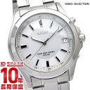 セイコーセレクション SEIKOSELECTION ソーラー電波 100m防水 SBTM019 [正規品] メンズ 腕時計 時計