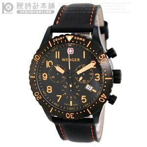 【送料無料】ウェンガー WENGER エアログラフ カウントダウン クロノグラフ 77003 腕時計ウェン...