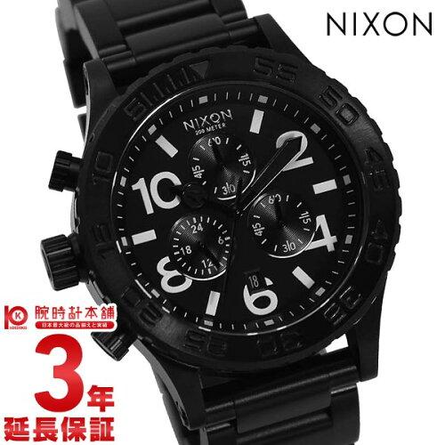 NIXON [海外輸入品] ニクソン THE42-20 クロノグラフ A037-001 メンズ&レディース 腕時計 時計