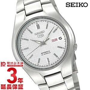 【送料無料】セイコー SEIKO ファイブ 5 シルバー・銀(文字盤カラー) ビジネスウォッチ SNK...