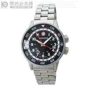 【送料無料】【半額以下】ウェンガー WENGER コマンドGMT カジュアル 74746 腕時計ウェンガー W...