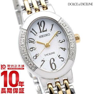 セイコー ドルチェ&エクセリーヌ DOLCE&EXCELINE ソーラー 10気圧防水 SWCQ051 [正規品] レディース 腕時計 時計【36回金利0%】
