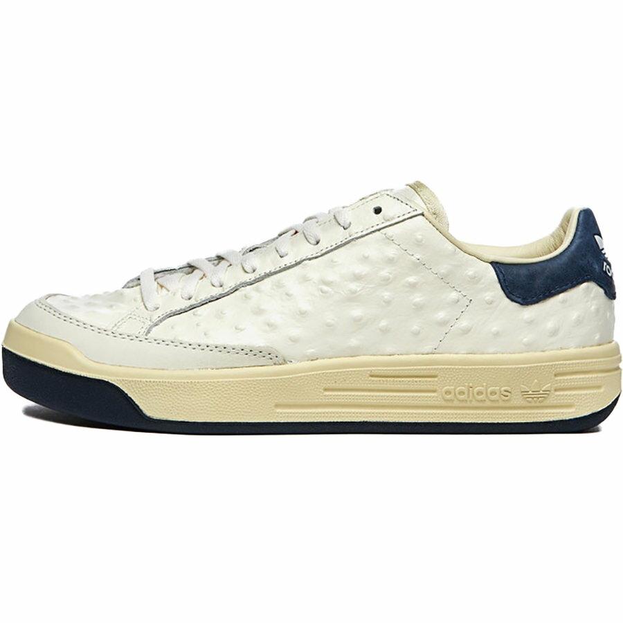 メンズ靴, スニーカー ADIDAS ORIGINALS ROD LAVER CONSORTIUM LEATHER PACK - OSTRICH CORE WHITECORE WHITECOLLEGIATE NAVY FY4493