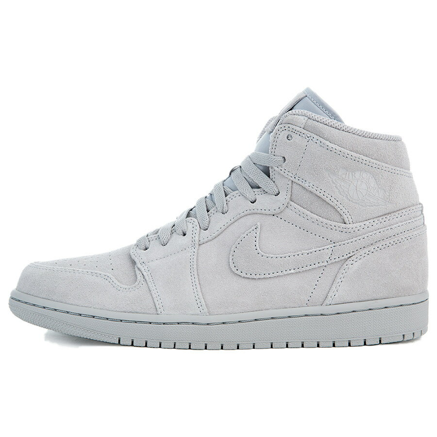 メンズ靴, スニーカー NIKE AIR JORDAN I RETRO HIGH Wolf Grey 332550-031 harusportd19