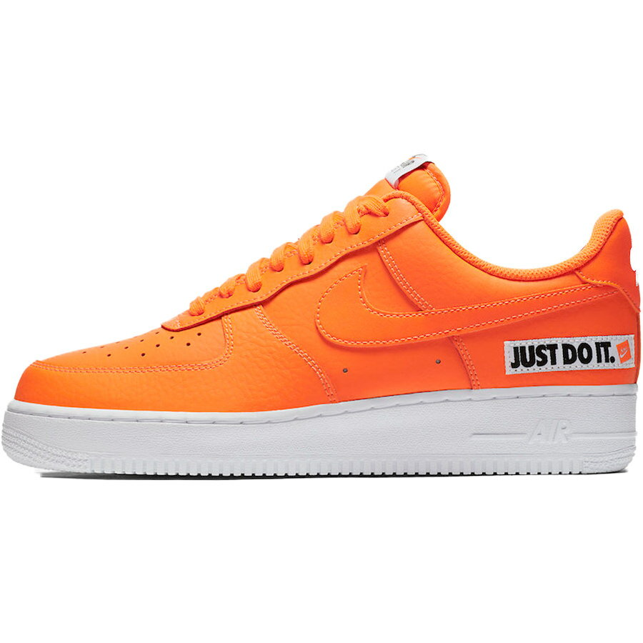 メンズ靴, スニーカー NIKE AIR FORCE 1 07 LV8 JDI LEATHER JUST DO IT PACK TOTAL ORANGEWHITEBLACK BQ5360-800 harusportd19