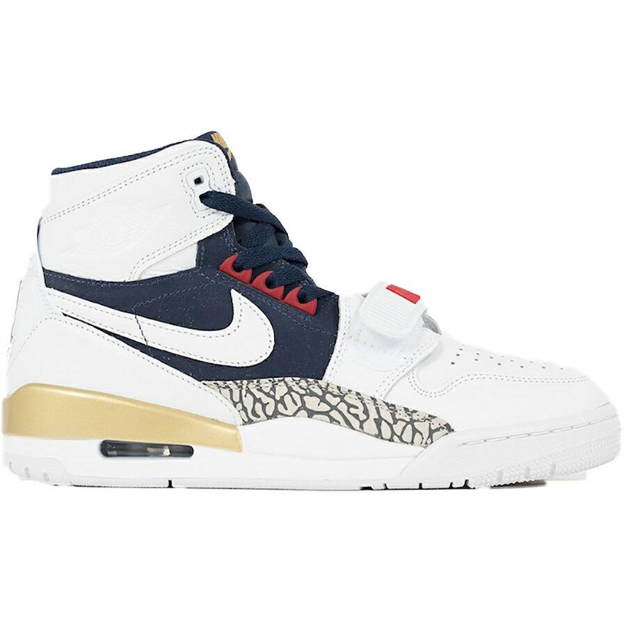 メンズ靴, スニーカー NIKE AIR JORDAN LEGACY 312 JUST DON WHITEMIDNIGHT NAVY-VARSITY RED AV3922-101 harusportd19