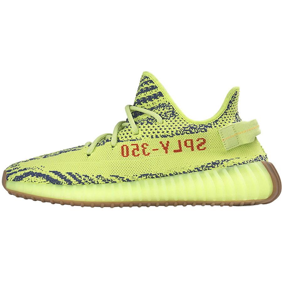 メンズ靴, スニーカー ADIDAS ORIGINALS YEEZY BOOST 350 V2 KANYE WEST SEMI FROZEN YELLOWRAW STEELRED B37572 harusportd19
