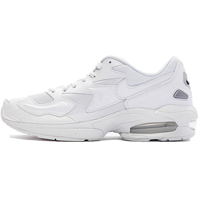 メンズ靴, スニーカー NIKE AIR MAX 2 LIGHT TRIPLE WHITE 2 OFF WHITEOFF WHITE-WHITE - AO1741-102