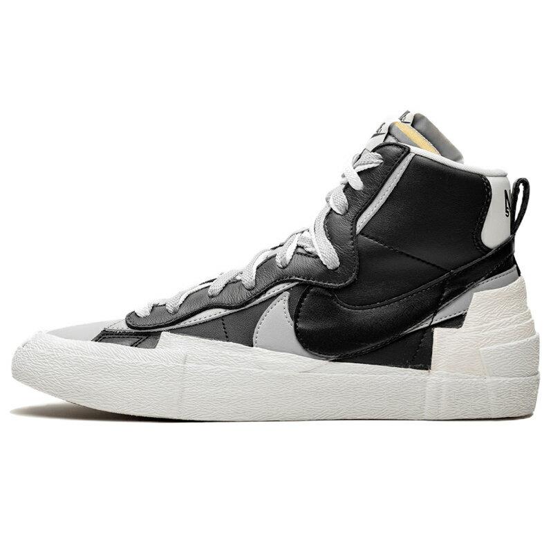 メンズ靴, スニーカー NIKE SACAI X BLAZER MID BLACK GREY BLACKWHITE-WOLF GREY-BLACK -- BV0072-002