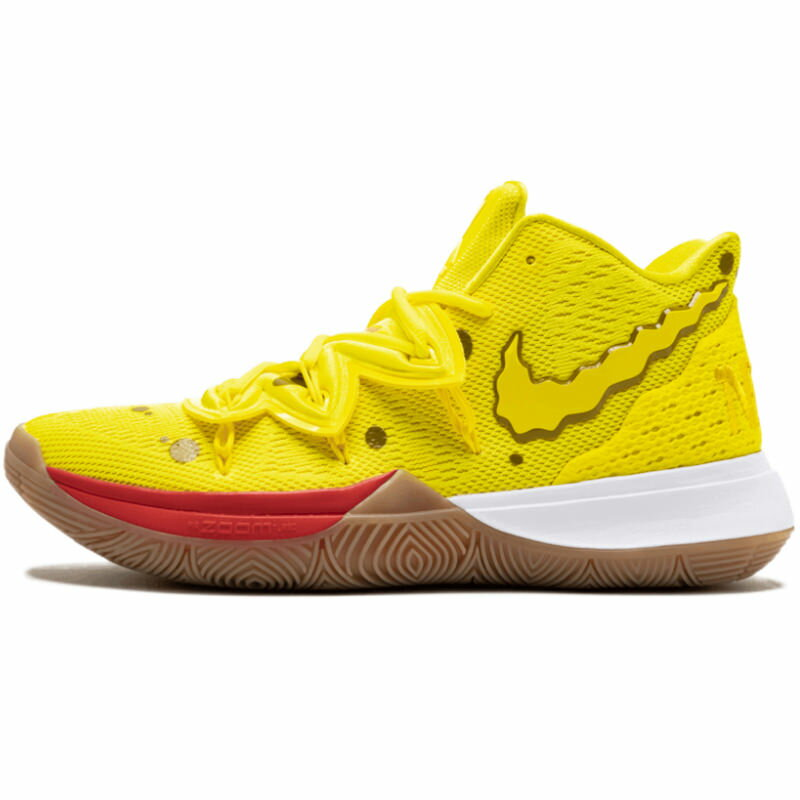 メンズ靴, スニーカー NIKE SPONGEBOB SQUAREPANTS X KYRIE 5 SPONGEBOB 5 OPTI YELLOWOPTI YELLOW CJ6951-700