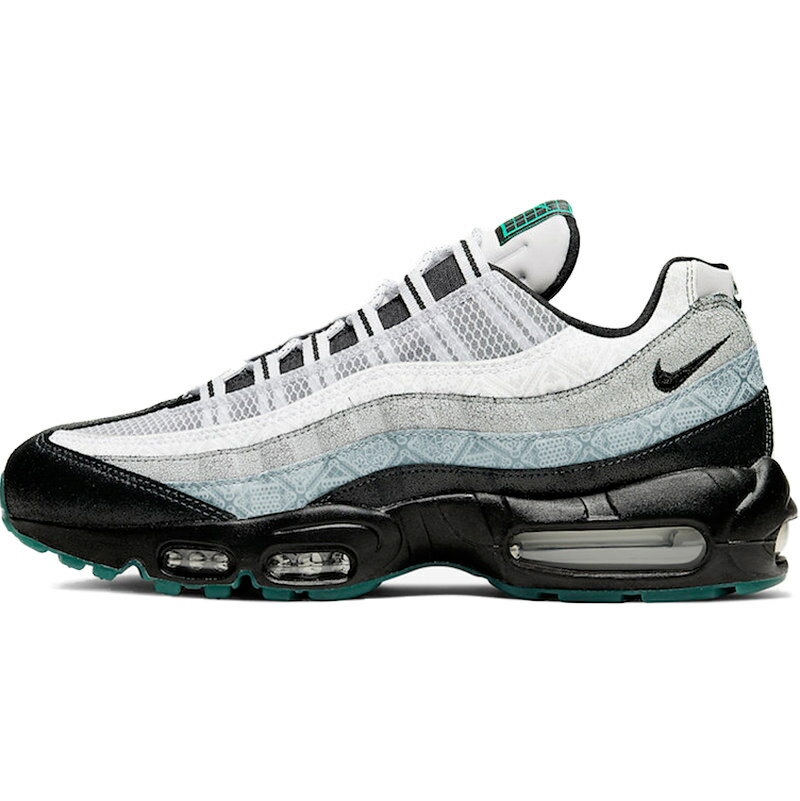 メンズ靴, スニーカー NIKE AIR MAX 95 DAY OF THE DEAD 95 WHITEBLACK-ALUMINUM - CT1139-001