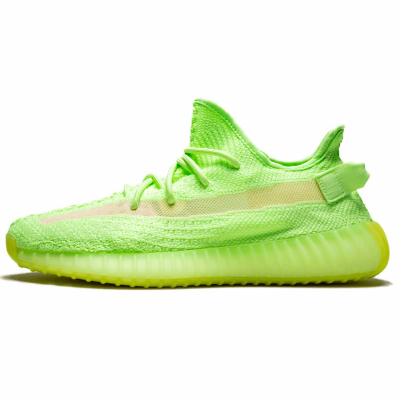 メンズ靴, スニーカー ADIDAS ORIGINALS YEEZY BOOST 350 V2 GID GLOW 350 GLOWGLOWGLOW EG5293