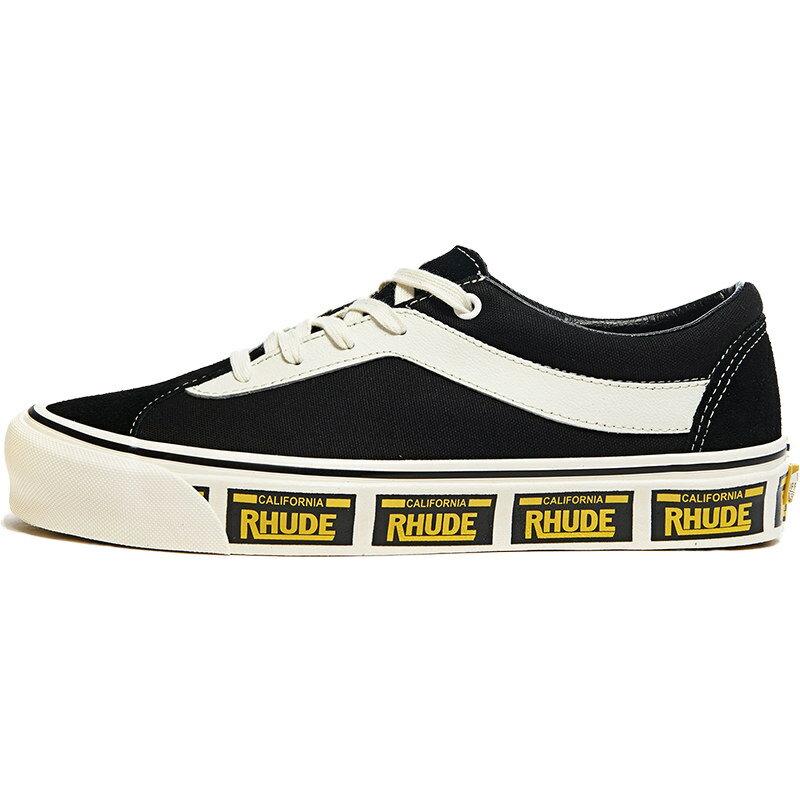 メンズ靴, スニーカー VANS RHUDE X BOLD NI BLACK BLACKTRUE WHITEYELLOW VN0A3WLPTHF
