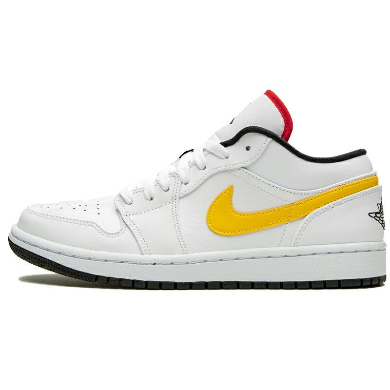 メンズ靴, スニーカー NIKE AIR JORDAN 1 LOW MULTI-COLOR SWOOSH WHITEMULTI-COLOR-BLACK - CW7009-100