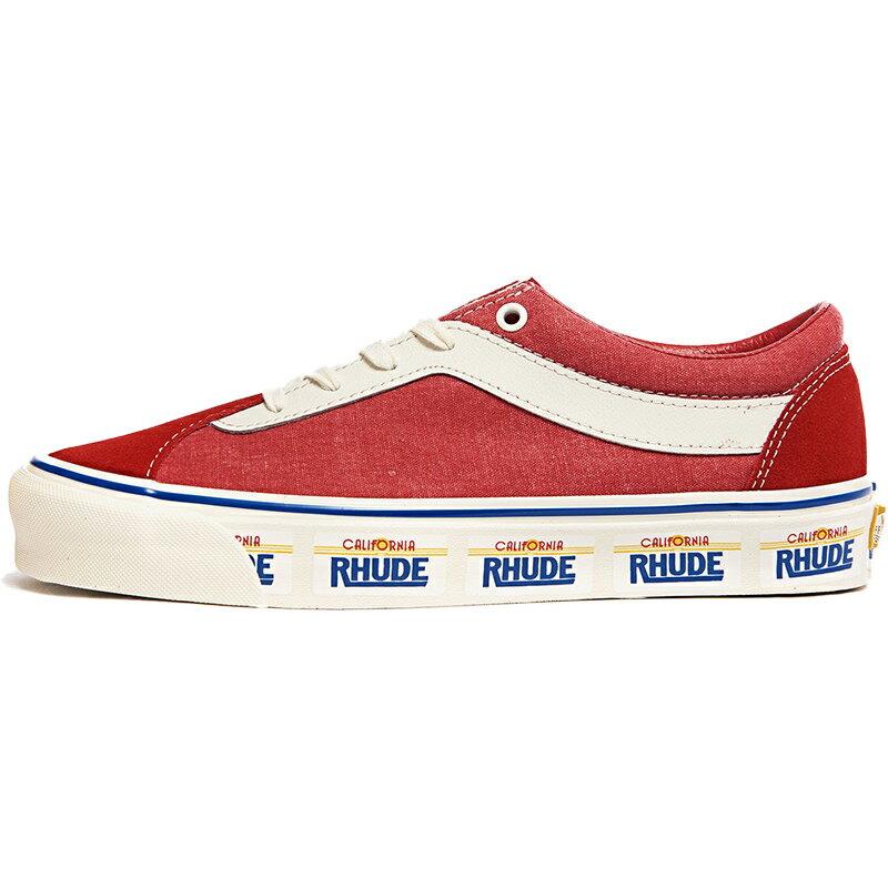 メンズ靴, スニーカー VANS RHUDE X BOLD NI CALIFORNIA PLATE - RED - PLATERACING RED VN0A3WLPTHE