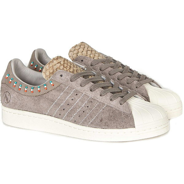 メンズ靴, スニーカー ADIDAS ORIGINALS CONSORTIUM x Invincible Superstar 80v BrownBrownWhite B34290 harusportd19