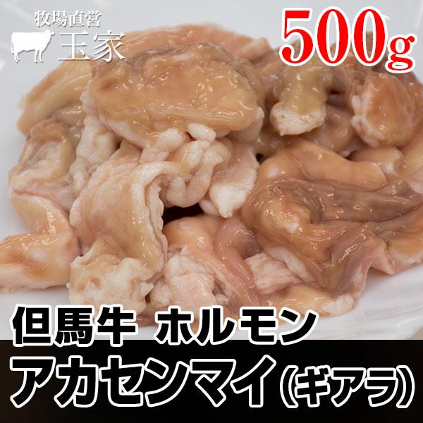 神戸牛のルーツ黒毛和牛◎但馬牛 ホルモン アカセンマイ(ギアラ) 500g(冷蔵) 国産 牛肉