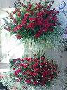 red rose&kasumi〜清楚と情熱との間に〜 スタンド花2段