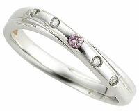 ピンクドルフィン結婚指輪4−Lady