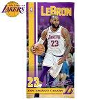 【送料無料】NBA ロサンゼルス・レイカーズ ビーチタオル[レブロン・ジェームズ]( 選手 バスケットボール バスケ タオル スポーツタオル エヌビーエー ロサンゼルス レイカーズ レブロンジェームズ Los Angeles Lakers )