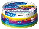 DVD-R(Data)[片面2層]8.5GBスピンドルケース25Pインクジェットプリンタ対応(白) DHR85HP25V1