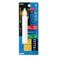 LED電池ローソク11.8cmLED01−Mオーム電機