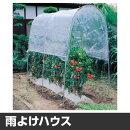 雨よけハウストマトの屋根nt-18間口1.2×奥行1.84×高さ1.75m