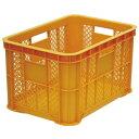 【6個セット】ホームコンテナー 50Mオレンジ 外寸 約535×370×高さ305mm