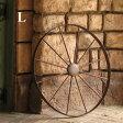 【同梱不可】アイアン製 車輪 Lサイズ(AIH01L70)【送料計算対象外】