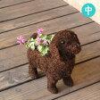 犬 ワンコ 鉢カバー(中サイズ/3-661M)
