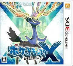 2013/10/12発売【新作】【3DS】ポケットモンスターX