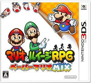 【3DS】マリオ&ルイージRPG ペーパーマリオMIX