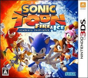 【予約】【3DS】ソニックトゥーン ファイアー&アイス(初回封入特典:ソニックシリーズ25周年…