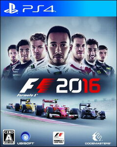 【予約】【PS4】F1 2016