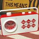 アメリカン雑貨 コカコーラ グッズ coco cola Radio&Alarm Clock Diamond レトロ ラジオ アラームクロック 時計 置時計