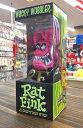 アメリカン雑貨 Rat Fink グッズ アメリカンフィギュア FUNKO ボビングヘッド ラットフィンク RED-ST0050