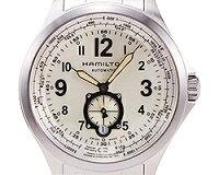 ハミルトン時計メンズHAMILTONH76655123KHAKIAVIATIONカーキー自動巻き腕時計ウォッチシルバー