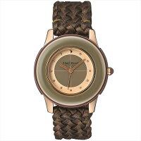 エンジェルハート時計レディースANGELHEARTBK34PG-BZブラックレーベルクォーツ日常生活防水腕時計ウォッチブラウン/ブラウン