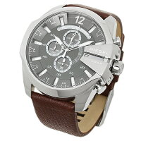 ディーゼル時計メンズDIESELDZ4290MEGACHIEFメガチーフ10気圧防水腕時計ウォッチブラウン/グレー
