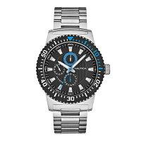 ノーティカ時計メンズNAUTICAA18679GNST16MULTISPORTACTIVEマルチクォーツ腕時計ウォッチシルバー/ブラック/ブルー