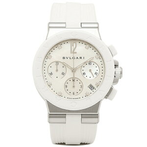 ブルガリ 時計 レディース BVLGARI DG37WSCVDCH/8 ディアゴノ 腕時計 ウォッチ ホワイト/ホワイト【new0226】