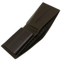 DUNHILLダンヒルFP3070E2つ折り財布サイドカーダークブラウン