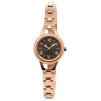 ルビンローザ時計レディースRubinRosaR016SOLPBRソーラー腕時計ウォッチライトピンク/ブラウン